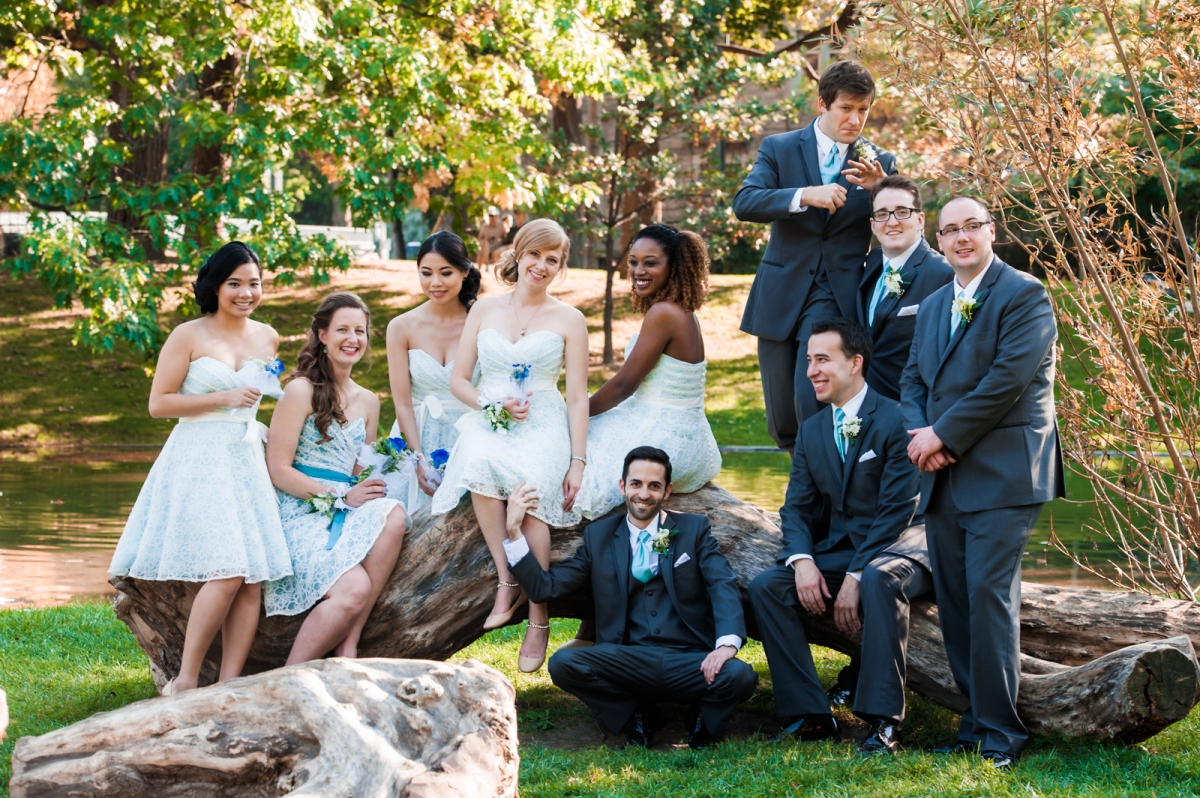 mint and lace bridesmaids dresses