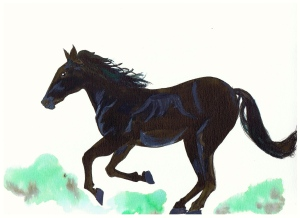 Dark Horse for Ryan by littlekokomo.com