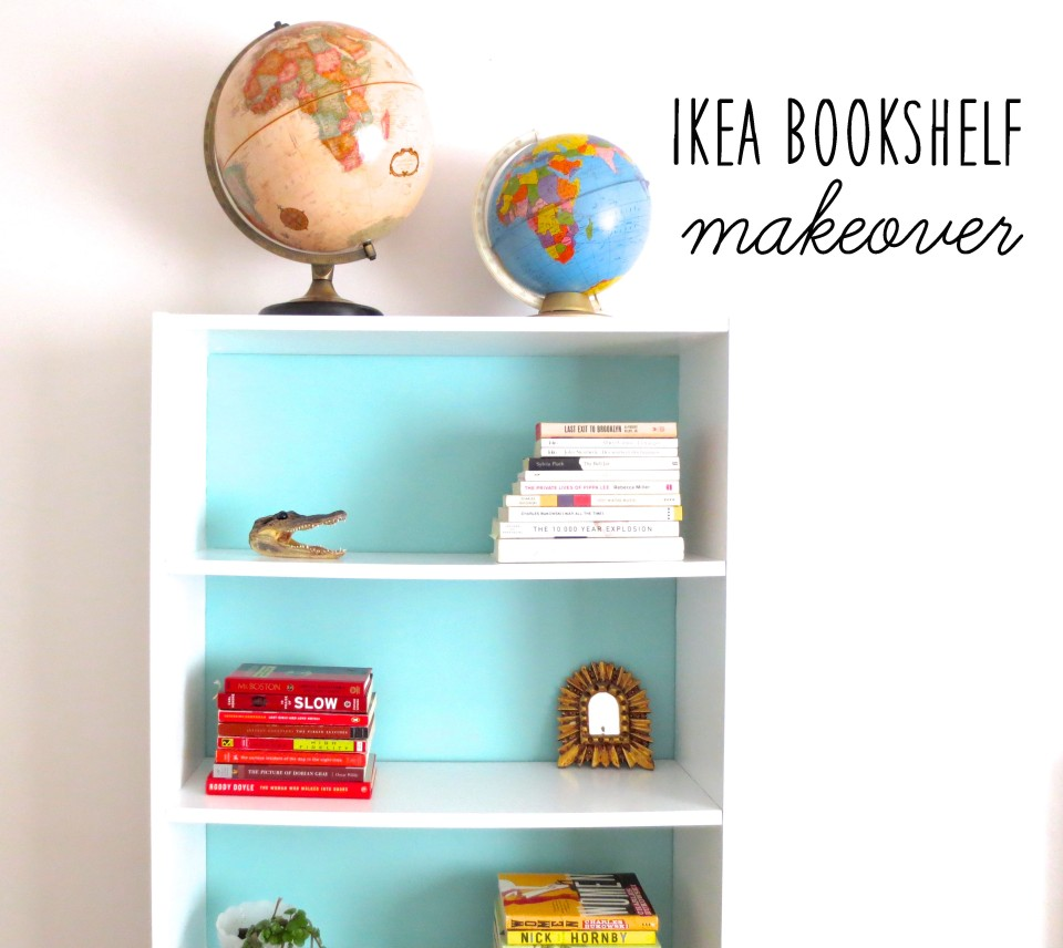 billy bookcase painted little kokomo