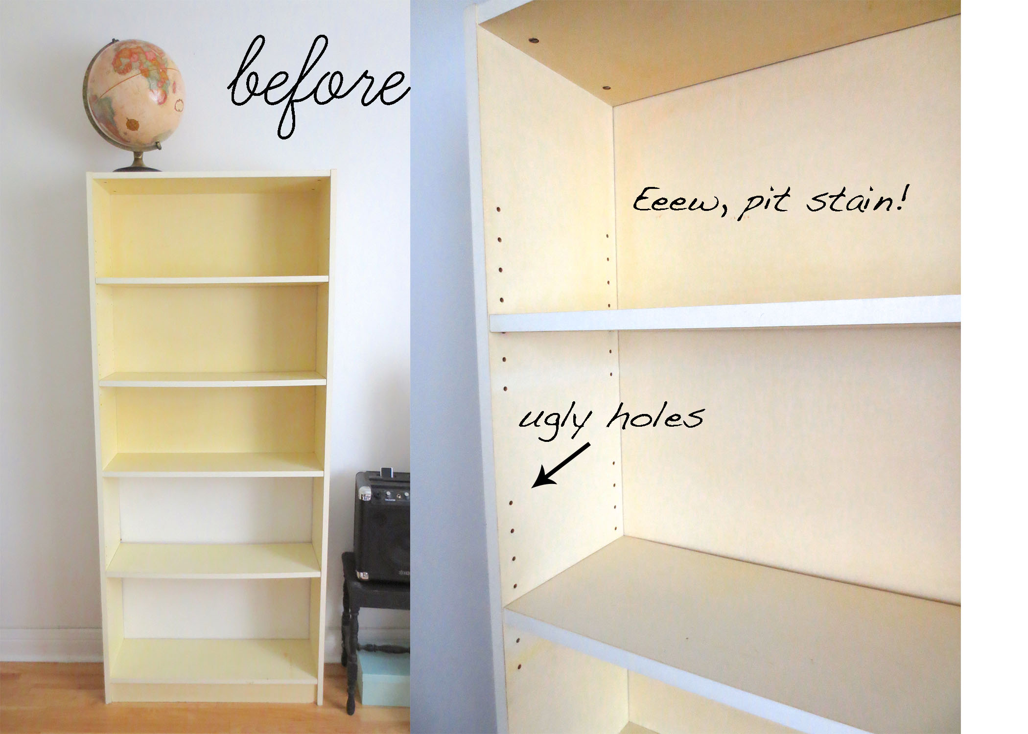 DIY Painted Billy Bookcase - Diy billy bookcase