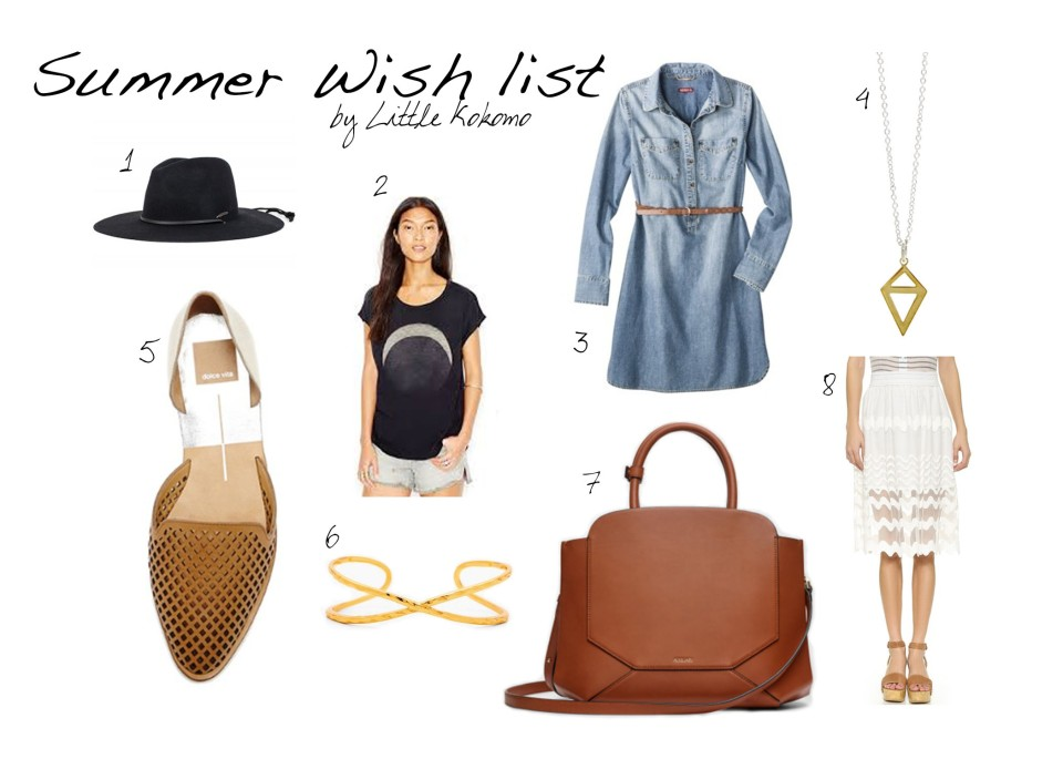 Summer wishlist littlekokomo.com