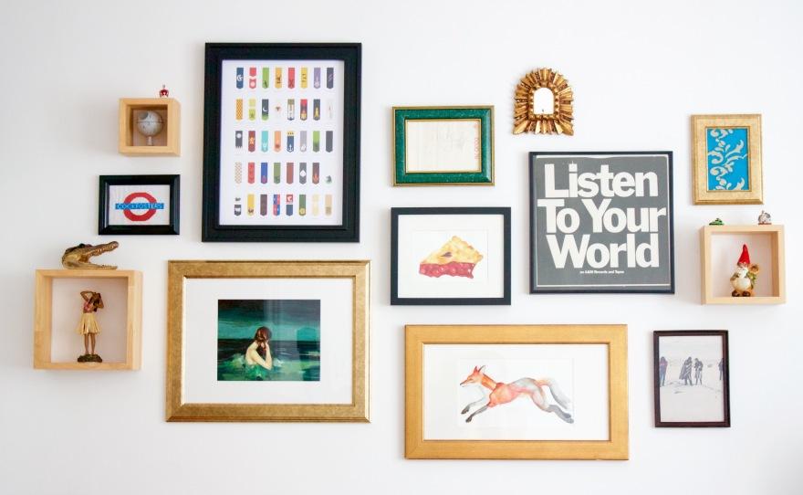 gallery wall littlekokomo.com