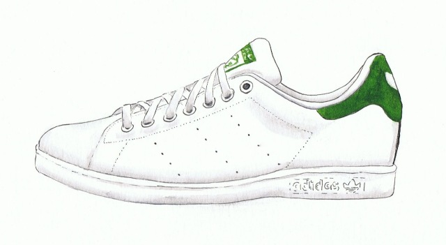 Stan Smith Adidas illustration